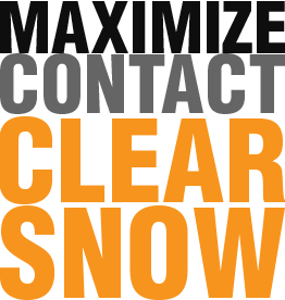 Maximize Contact Clear Snow